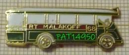 RATP BUS SCHNEIDER TYPE H Ligne RT MALAKOFF 68 En Version EGF - Transports
