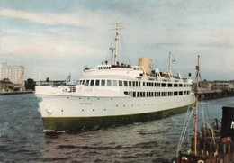 MALMO-TAGFARJAN-MALMOHUS I FARJELAGET-  VIAGGIATA 1959   FG - Svezia