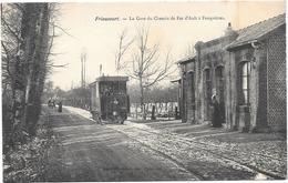 Friaucourt - La Gare Du Chemin De Fer D'Ault à Feuquieres - Cpa - France