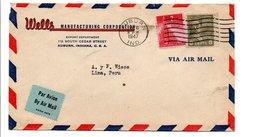 USA LETTRE POUR LA FRANCE 1947 - Vereinigte Staaten