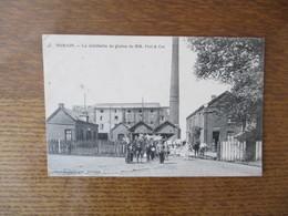 SOMAIN.- LA DISTILLERIE DE GRAINS DE MM. PIOT & Cie - Otros Municipios