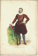 Gravure Ancienne La Forêt-sur-Sèvre Philippe Duplessis-Mornay Seigneur Du Plessis–Marly Buhy Protestant Protestantisme - Collections