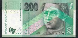 SLOVAKIA P45a 200 KORUN 2006  #E    UNC. - Slowakije