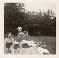 Original Photo Vintage Sommertag - Pin-Ups