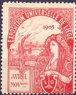CINDERELLA  ERINOFILO EXPOSITION UNIVERSAL 1905 (GIUGN19C0001) - Erinnofilia