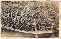** Real Photo / Carte Photo ** USA Etats Unis ( OR Oregon ) PORTLAND : Aerial View / Vue Aérienne - Format CPA - - Portland