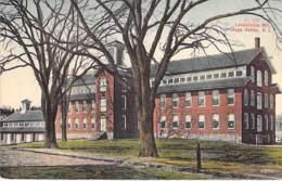 USA Etats Unis ( RI Rhode Island ) HOPE VALLEY : Locustville Mill - CPA Village ( 1.650 Habitants ) - Etats-Unis