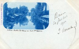 POITIERS - PHOTO De Jules ROBUCHON (4)  - CLICHE TRES RARE Sur UNE CARTE PRECURSEUR - - Poitiers
