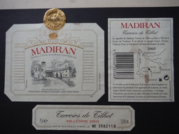 Madiran Terroirs De Tilhet 2003 - Producteurs Vignoble De Gascogne à St Mont - Madiran