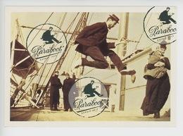 Paraboot Depuis 1919 (pont Paquebot) Chaussures Homme/femme Bagagerie Accessoires Paris Lyon Nice - Pubblicitari