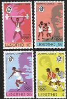 V) 1976 LESOTHO,SUMMER OLYMPIC GAMES MONTREAL, MNH - Lesotho (1966-...)