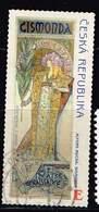 Tschechien 2010, Michel# 633 O 150 Years Alfons Mucha - E - Gebraucht