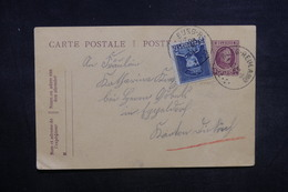 BELGIQUE - Entier Postal + Complément  En 1922 - A Voir - L 37535 - Stamped Stationery