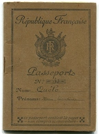 France Passeport 1948 - Non Classés