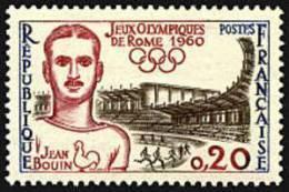 France N° 1265 ** Jeux Olympiques De Rome - Jean Bouin - France