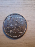 10 Francs TURIN 1948 B - France