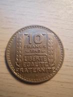 10 Francs TURIN 1949 B - France