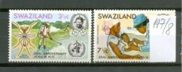 SWAZILAND - 197/8  WHO  Kpl.Ausg.postfr - Swaziland (1968-...)