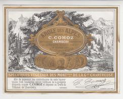 ET  011 /   AROLE  DES  ALPES  / De La Recette ARNAUD AINE & Cie  De VOIRON  Par : C . COMOZ  , CHAMBERY  ( 73 ) Savoie - Autres