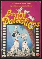 Les 101 Dalmatiens, Album Très Rare Presque Complèt Manque 7 Images. 1972. - Vignettes Autocollantes
