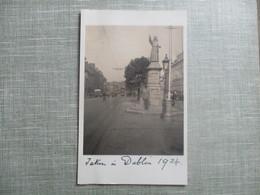 CPA PHOTO IRLANDE DUBLIN 1934 STATUE - Dublin