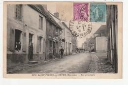 SAINT PIERRE SUR ORTHE - RUE PRINCIPALE - 53 - France