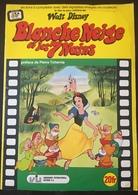 Blanche Neige Et Les 7 Nains,  Album Rare Complet Année 1974. - Vignettes Autocollantes