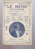 """Partition Ancienne """" Le Matin Aviateur """" Repertoire Gaudet - Music & Instruments"""