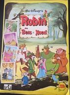Robin Des Bois, Hood, Album Presque Complet Manque 15 Images, Année 1975. - Vignettes Autocollantes