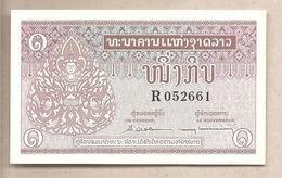 Laos - Banconota Non Circolata Da 1 Kip P-8b - 1962 - Laos