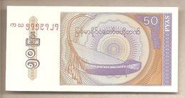 Myanmar - Banconota Non Circolata Da 50 Pyas P-68 - 1994 - Myanmar