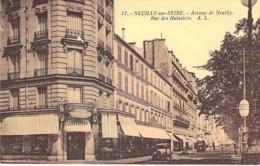 92 - NEUILLY SUR SEINE : Avenue De Neuilly ( Commerce GRAND BAZAR En 1ere Plan ) Rue Des Huissiers - CPA Hauts De Seine - Neuilly Sur Seine