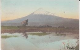 CARTE POSTALE 24/07/1906 YOKOHAMA HEDERSLEBEN FUJI - Japon