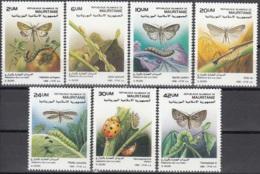 Mauritanie 1988 Michel 943 - 949 Neuf ** Cote (2001) 7.50 Euro Parasites Des Cultures - Mauritanie (1960-...)