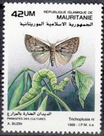Mauritanie 1988 Michel 949 Neuf ** Cote (2001) 2.20 Euro Fausse-arpenteuse Du Chou Trichoplusia Ni - Mauritanie (1960-...)