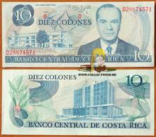 Costa Rica 10 Colones 1983 UNC Р-237b - Costa Rica