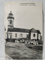 Briaucourt. Place De L'Eglise. Animée - Autres Communes