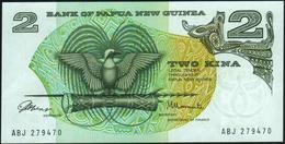 PAPUA NEW GUINEA - 2 Kina Nd.(1975) {Signature 1} {sign. ToRobert & Morauta} AU-UNC P.1 - Papua Nuova Guinea
