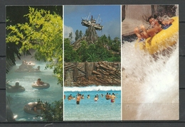 USA Post Card Walt Disney Disneyworld Sent From Germany With German Stamp 2000 - Disneyworld