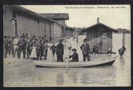 Rorschach - Hochwasser Am Bodensee -1910 - SG St. Gallen