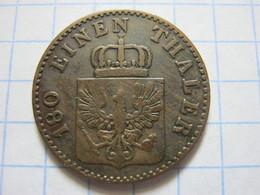 Prussia 2 Pfenninge 1860 (A) - [ 1] …-1871 : German States