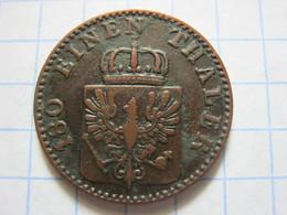 Prussia 2 Pfenninge 1865 (A) - [ 1] …-1871 : German States