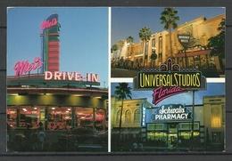 USA FLORIDA Universal Studios Sent 2000 From Germany With Stamp - Etats-Unis