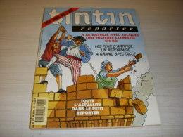 TINTIN REPORTER 32 14.07.1989 Les FEUX D'ARTIFICE RENCONTRE Avec PINK FLOYD - Tintin