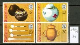 SWAZILAND - 296/9  Traditionelle Handwerkskunst  Kpl.Ausg. Postfrisch - Swaziland (1968-...)