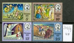 SWAZILAND - 306/9  Weihnachten  Kpl.Ausg. Postfrisch - Swaziland (1968-...)
