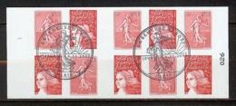 N° 1511 CARNET SEMEUSE ROTY OBLITERE PREMIER JOUR - Carnets