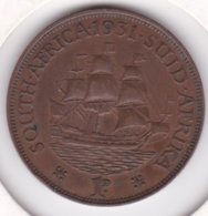 Afrique Du Sud 1 Penny 1931. George V. Bronze. KM# 14.3 - South Africa