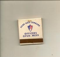 Pochette Allumettes LASTAR De 1960 Neuve Et Plein:OFFICERS OPEN MESS TWA Jetstream - Boites D'allumettes