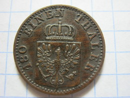 Prussia 2 Pfenninge 1870 (A) - [ 1] …-1871 : German States